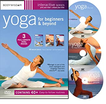 Amazon.com: Yoga for Beginners DVD Deluxe Set with 40+ Yoga ...