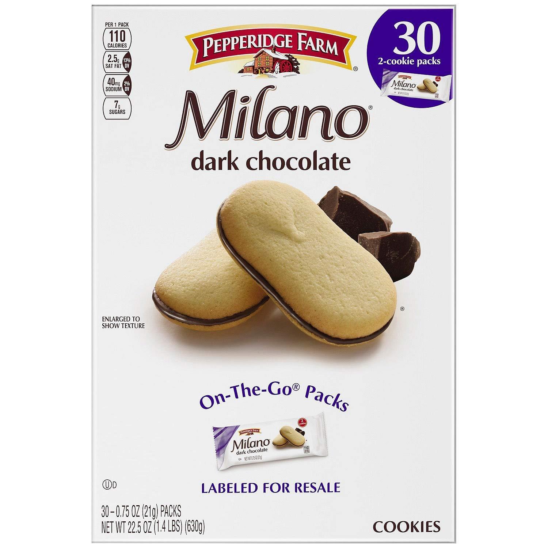 Pepperidge Farm Milano Dark Chocolate Cookies (30 Pk)