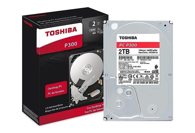 Amazon.com: Toshiba 2TB Desktop 7200rpm Internal Hard Drive