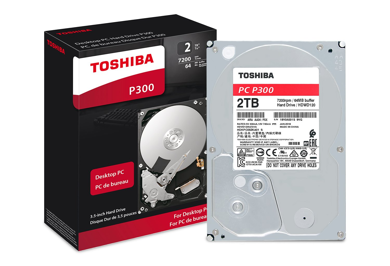 Toshiba 2TB Desktop 7200rpm Internal Hard Drive by Toshiba