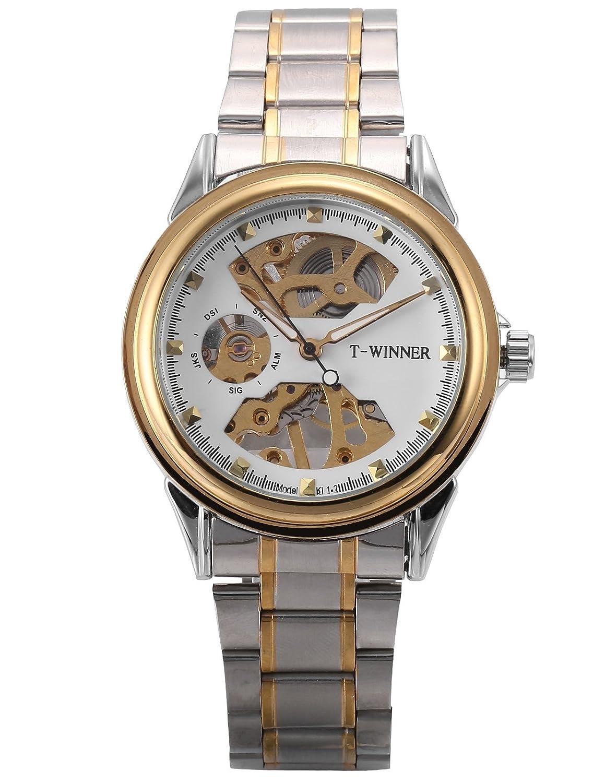 [エーエムピーエム24]AMPM24 PMW480腕時計 メンズ 手巻き機械式 アナログ シルバー ステンレススチールバンド B01M3Z2Z7H