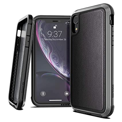 Amazon.com: X-Doria Defense Lux Series, iPhone XR Case ...