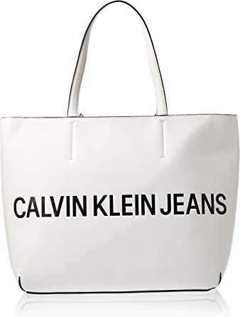 Calvin Klein white Sculpted Logo at