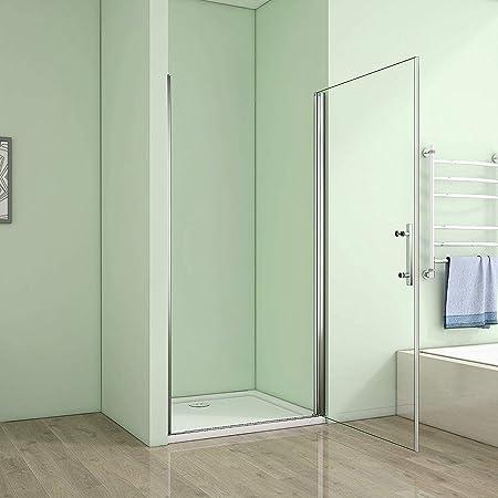 70 x 185 cm nichos Puerta de ducha puerta Mampara – pared de ducha ...