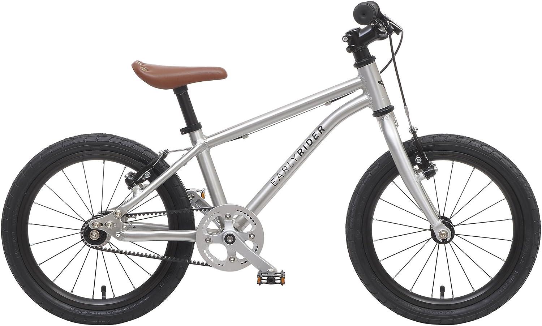 Bicicleta Niño Early Rider Belter 16 Plata: Amazon.es: Deportes y ...