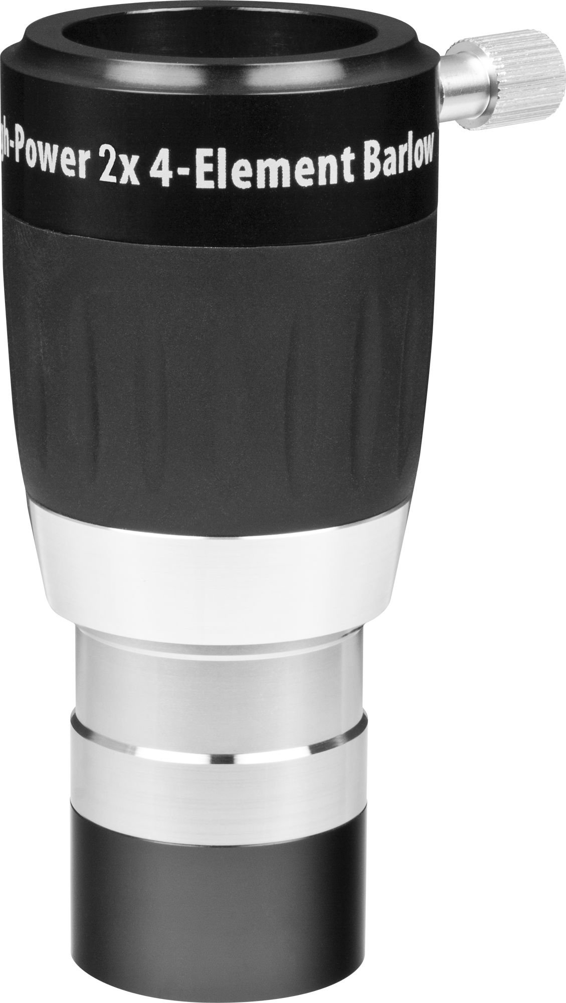 High-Power 1.25 Inch 2X 4-Element Barlow Lens by Orion