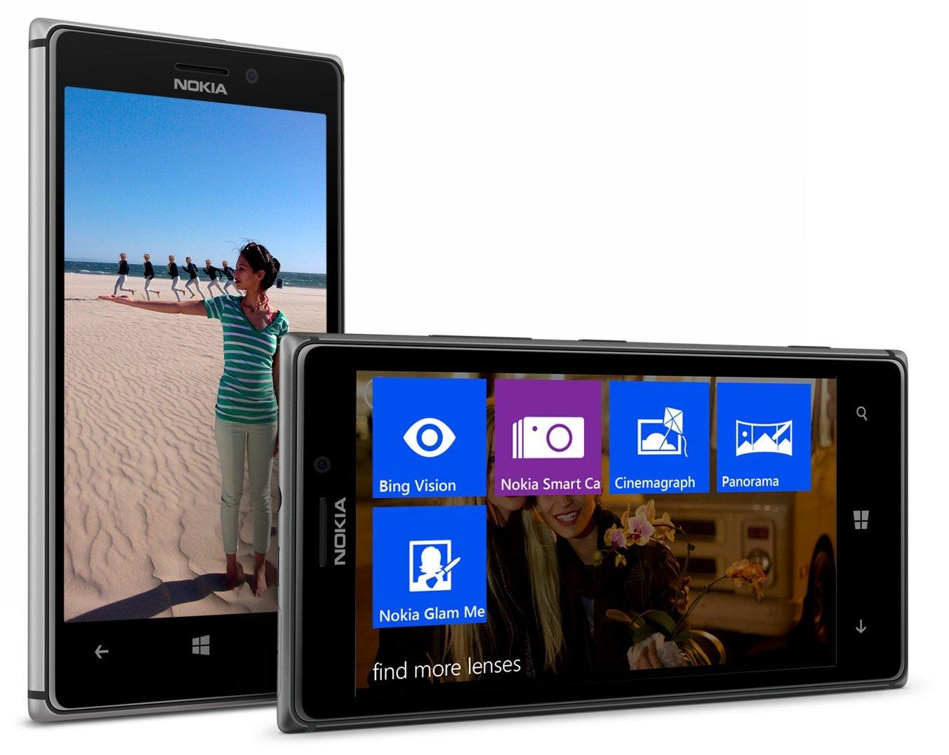 Nokia lumia 925 jpg - Amazon Com Nokia Lumia 925 16gb Unlocked Gsm 4g Lte Windows 8 Smartphone W 8mp Camera Black At T No Warranty Cell Phones Accessories