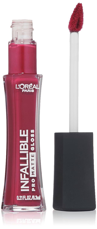 L'Oréal Paris Infallible Lip Pro Matte Gloss, Rebel Rose, 0.21 fl. oz.