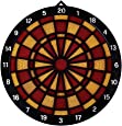 TFACR Dart Board Soft Tip, Safety Kids Dart Board Set Boys/Girls Toys Gifts, 18 Inch Rubber Dart Board with 6 Soft Tip Safety Darts Great Game for Office and Family Leisure Sport