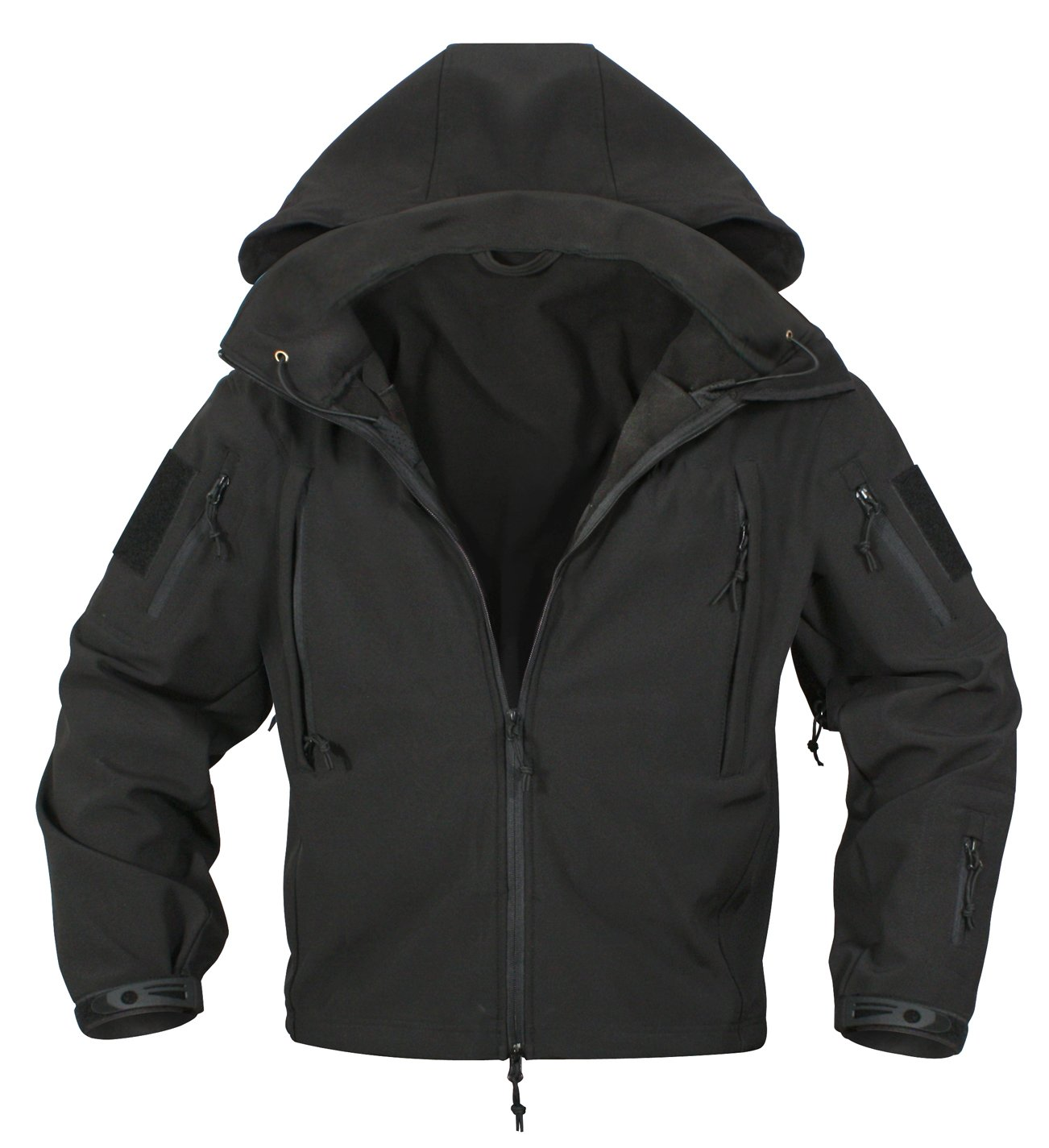 Rothco Special Ops Softshell Jacket, Black, 3X-Large by Rothco (Image #4)