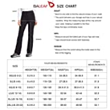 BALEAF Women's Hiking Pants UPF 50+ Stretch Boot