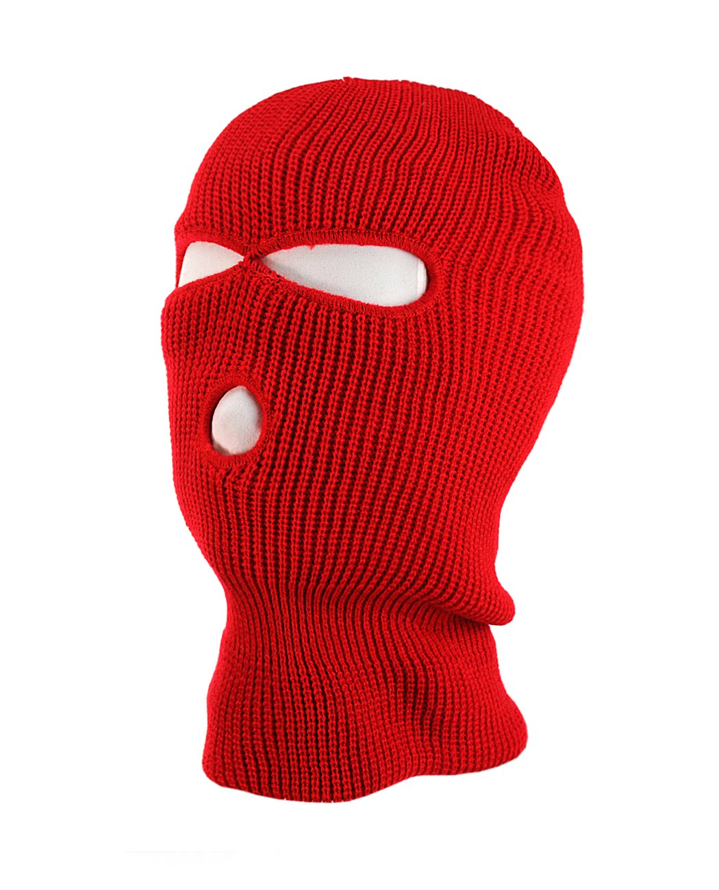 NYfashion101 Winter Warm Ribbed 3 Hole Face Ski Mask 3HoleMask-NV