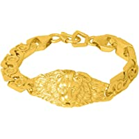 Voylla Strand Bracelet for Men (Golden)(8907617387314)