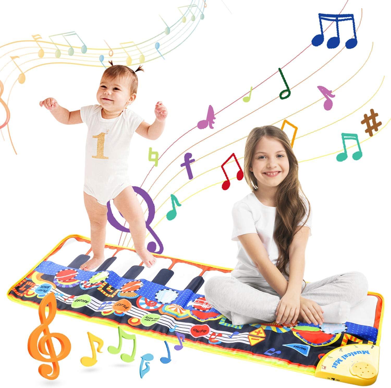 Vimpro Musical Piano Mat For Kids Toddler Girls Boys