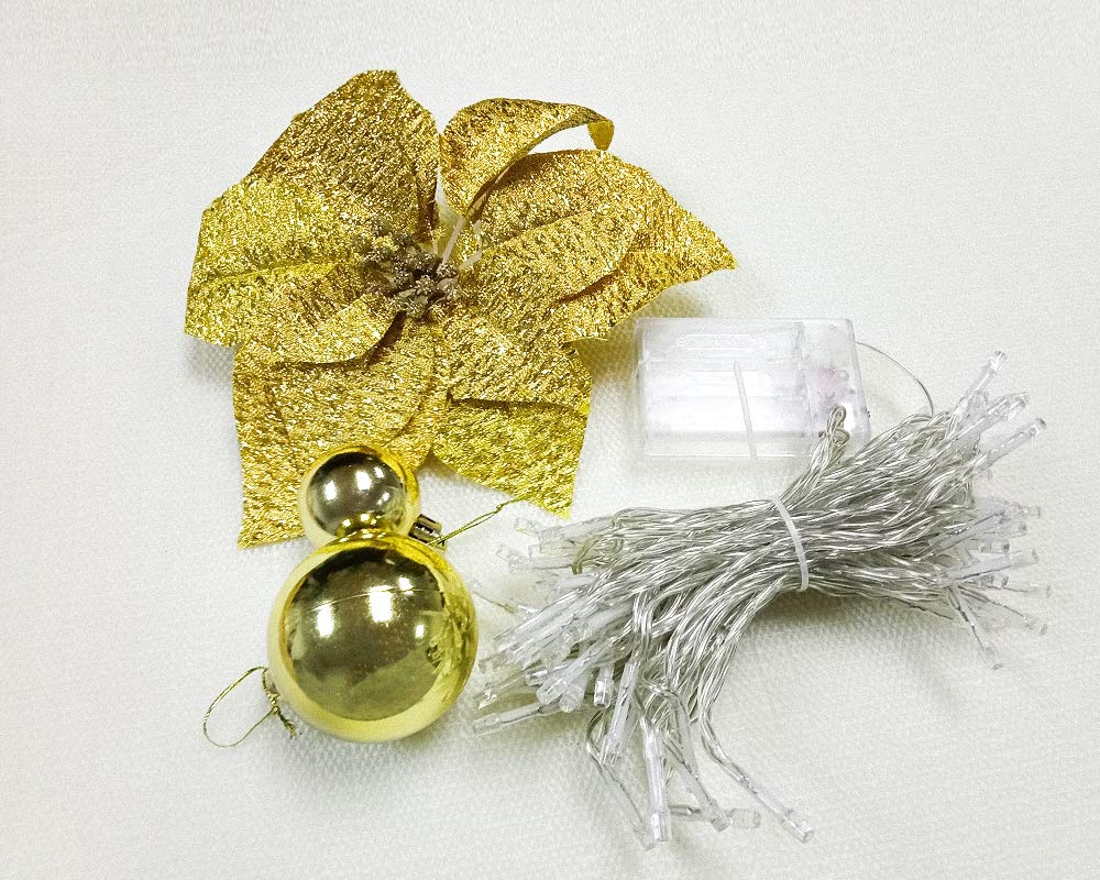 Beautiful Gold Ornaments for Christmas Tree Garland