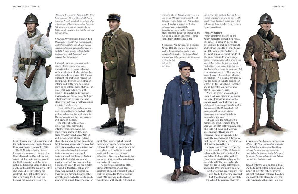 An Illustrated Encyclopedia of Uniforms of World War II: An