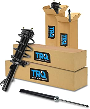 Front Rear Quick Complete Loaded Strut Spring Assembly Shock Kit Set 4pc New