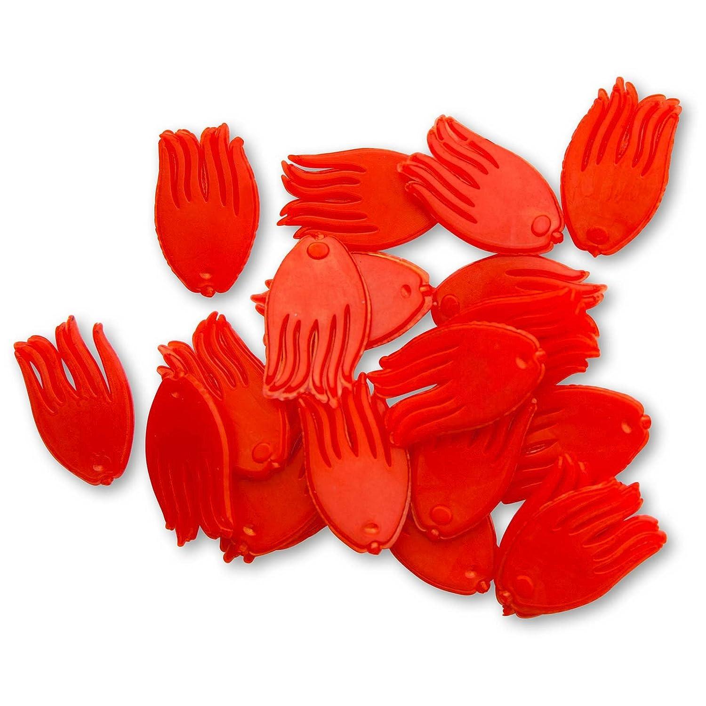 Quantum Mr.Pike Spotty UV colours 20 Stück angeln mit dem Köderfisch
