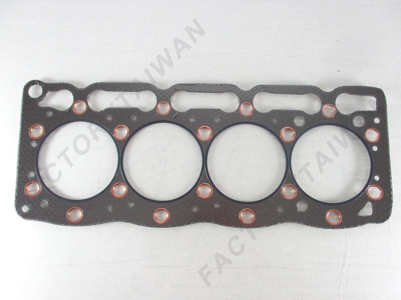 Head Gasket for Kubota V1505 // 4D78 100/% Taiwan Made Graphite