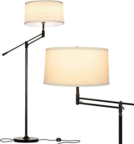 Brightech Ava Industrial Floor Lamp