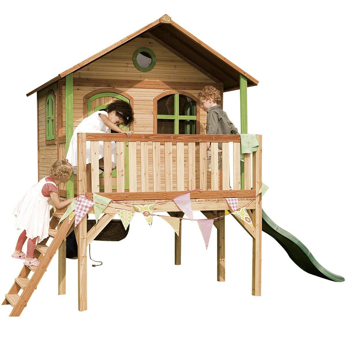 Axi Kinder Spielhaus Sophie mit Terrasse - Stelzenhaus hoch