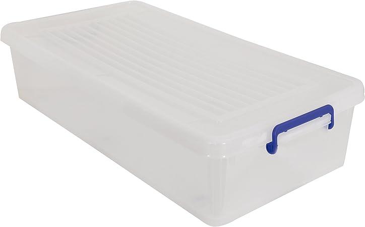 MSV Caja DE ORDENACION (BAJO Cama) con Ruedas 35L, 38.5 ...