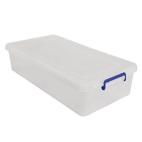 MSV Caja DE ORDENACION (BAJO Cama) con Ruedas 35L, 38.5x19.5x15