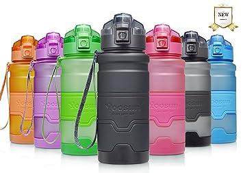YOOSUN Botella de Agua Deporte 500ml/700ml/1000ml Botella Agua sin bpa & Eco