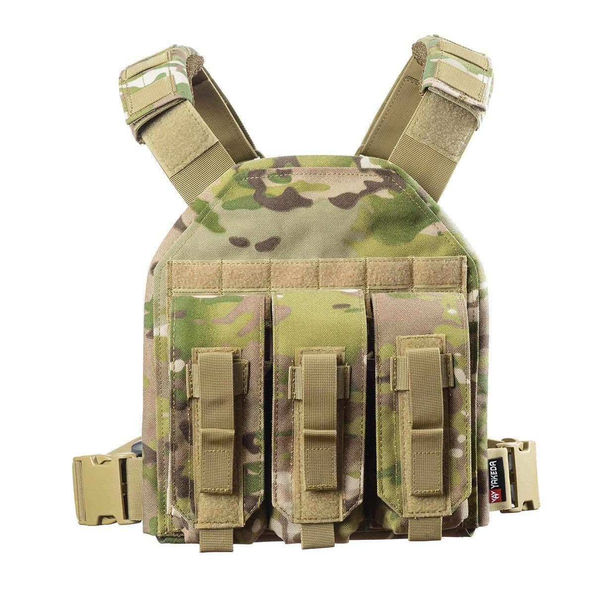 vAv YAKEDA Nylon Tactical Sling Bag Cross Body Gun Backpack Design for Handgun Move Quickly