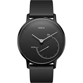 #9 Withings / Nokia | Steel – Activity Tracker, Sleep Monitor, Water Resistant Smart Watch