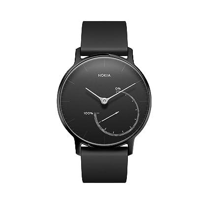 Withings Hwa01 All Inter Reloj con Seguimiento de Actividad, Hombre, Limited Edition Full Black