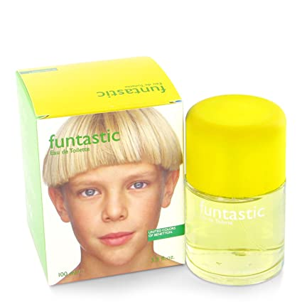 Agua de colonia benetton funtastic boy con vaporizador 100 ml