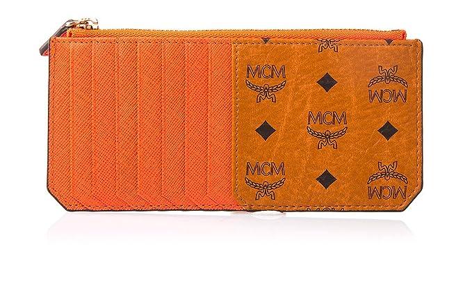 MCM - Cartera para mujer Unisex adulto marrón-marrón: Amazon.es: Ropa y accesorios