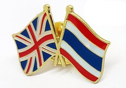 British UK United Kingdom Britain Flying Union Flag // Jack brooch pin badge