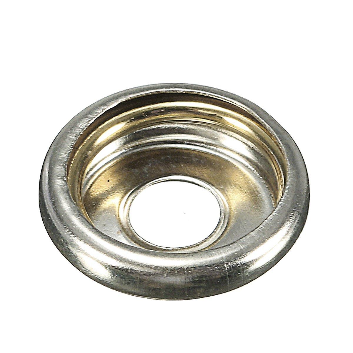 in metallo Set da 20 pezzi per rivetti e bottoni set in scatola per cucire 15/mm con punzone