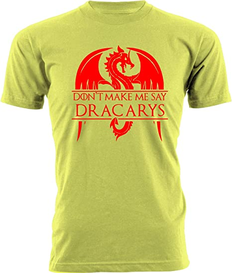 T-Shirt Maglietta Targaryen Dracarys Game of Thrones Trono di Spade Donna