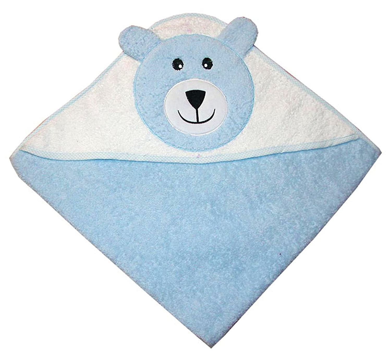 Zigozago - Toalla de baño con capucha para bebés Osito Color Beige: Amazon.es: Bebé