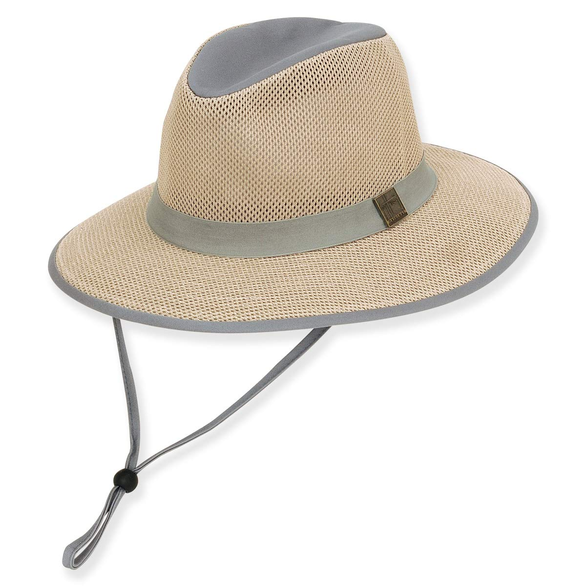 7bf4e6845fa63 Guy Harvey Mens Mesh Fishing Hat One Size Black at Amazon Men s Clothing  store