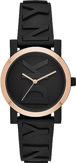 DKNY Reloj Analógico para Mujer de Cuarzo con Correa en Silicona NY2727: Amazon.es: Relojes