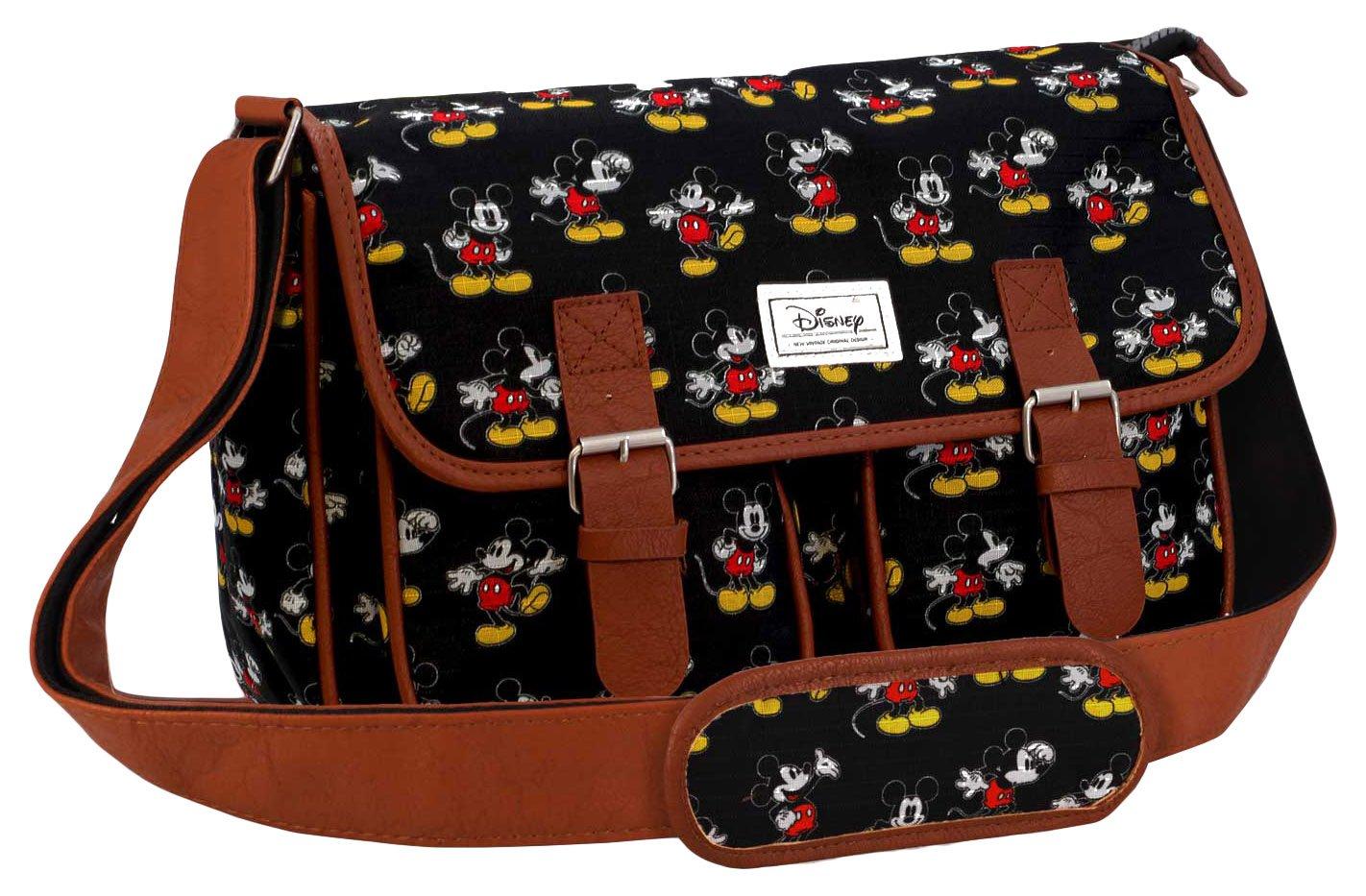 34 cm Negro Karactermania Disney Classic Mickey Moving Bolsos Bandolera
