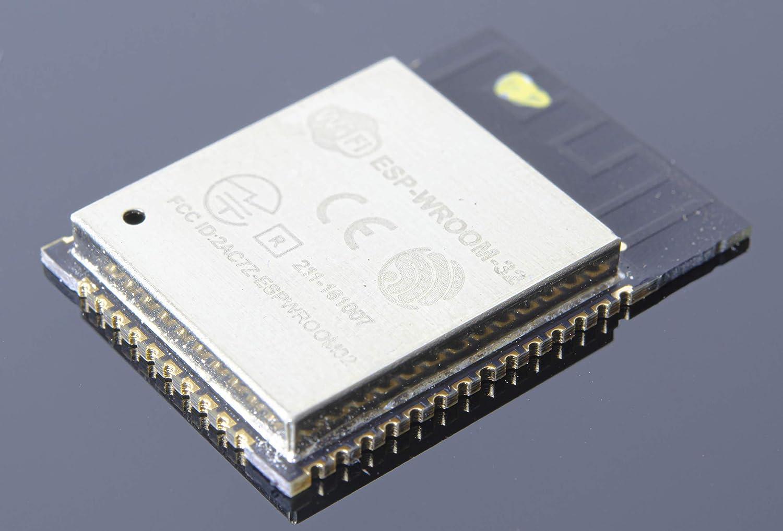ESP32-WROOM-32 ESP-WROOM-32 ESP-32S ESP-D0WDQ6 Dual Core 32Mbits 4MB SPI Flash UART Mode SMD WiFi Module for Arduino Power Module