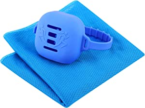 ARKTEK Microfiber Towel, Ultra Compact Quick Cooling Towel with Wristband, Sweat Towel for Gym, Camping, Backpacking and More Outdoor Activities