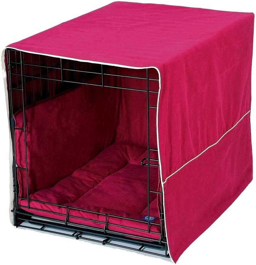 Pet Dreams Complete 3 Piece Crate Bedding Set! The Original Crate Cover, Crate Pad and Crate Bumper for Double Door Dog Crate