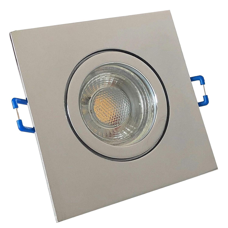 IP9 LED Einbauleuchten Aqua Eckig 9K Deckenspots LED Bad ...