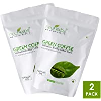 Neuherbs Organic Green Coffee Beans for weight Loss 200g - (Pack of 2)