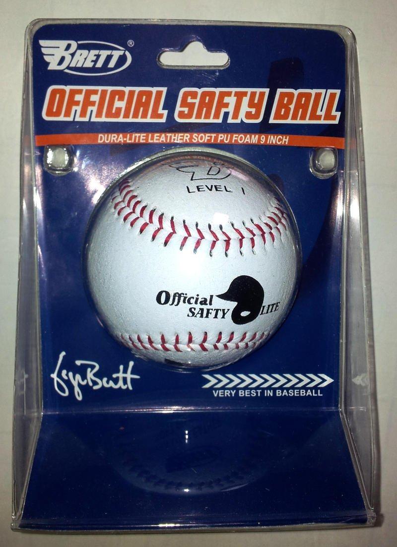 Brett ® weicher Kompressions Baseball Softball Official Safety Ball 9 inch