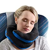 Amazon Price History for:BCOZZY Chin Supporting Travel Pillow - Supports the Head, Neck and Chin in Maximum Comfort in Any Sitting Position. A Patented Product. Adult Size, BLACK