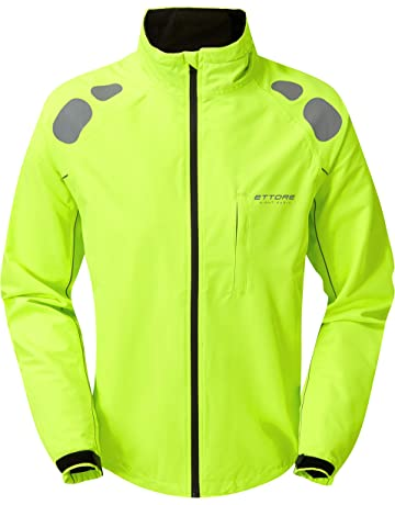 Ettore Mens Cycling Jacket Waterproof Breathable High Visibility Yellow -  Night Eagle II 1dd9526c8