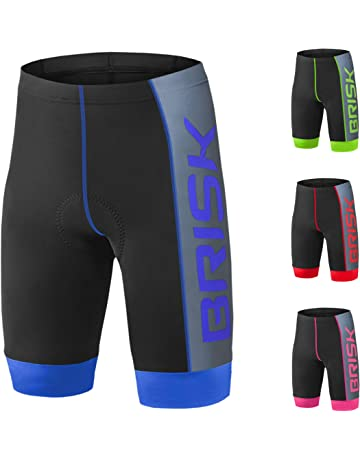 0073db138 Brisk Bike Padded Compression Cycling Shorts For Fitness And Protection