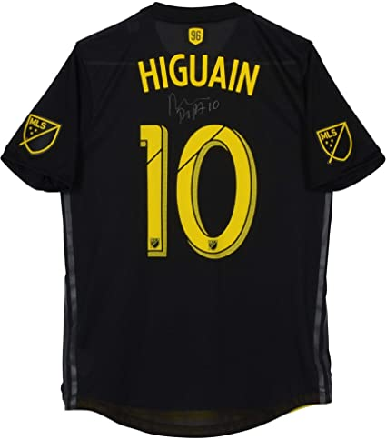 hot sale online beeae 081f1 Federico Higuain Columbus Crew SC Autographed Match-Used ...